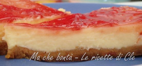cheese cake semplice