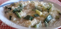 risotto zucchine e philadelphia