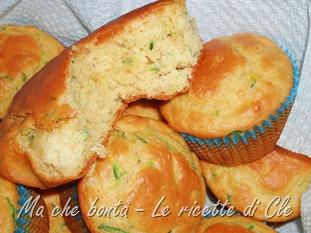 muffin zucchine e provola