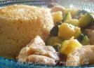 cous cous verdure piccanti e pollo