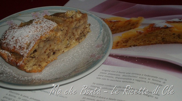 torta noci pere
