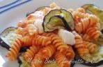 pasta melanzane mozzarella