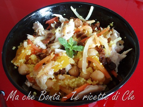 Cous cous in agrodolce