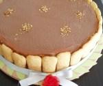 Torta anna con crema e cioccolato