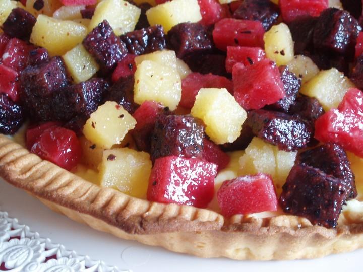 Crostata con gelée di frutta (Montersino)