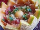 grano al prosciutto e melone