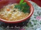 minestra di merluzzo- cod soup