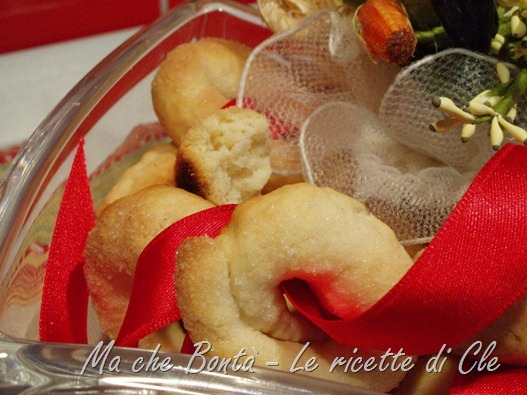 Taralli dolci al vino