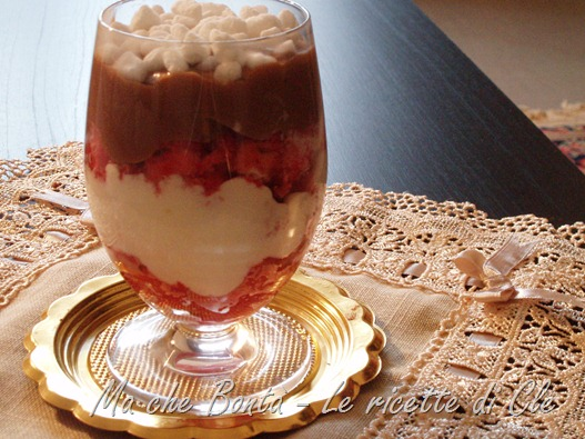 zuppa inglese in coppa