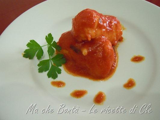 merluzzo alla livornese - livornese style codfish