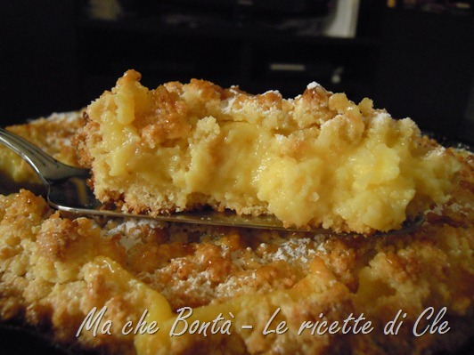 Briciole di limone - lemon crumble
