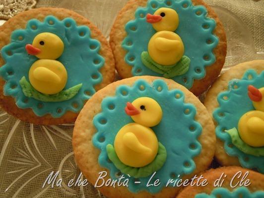 Decorazioni pasquali per biscotti e cupcakes