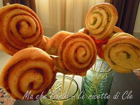 girelle mozzarella (mozzarella rolls)