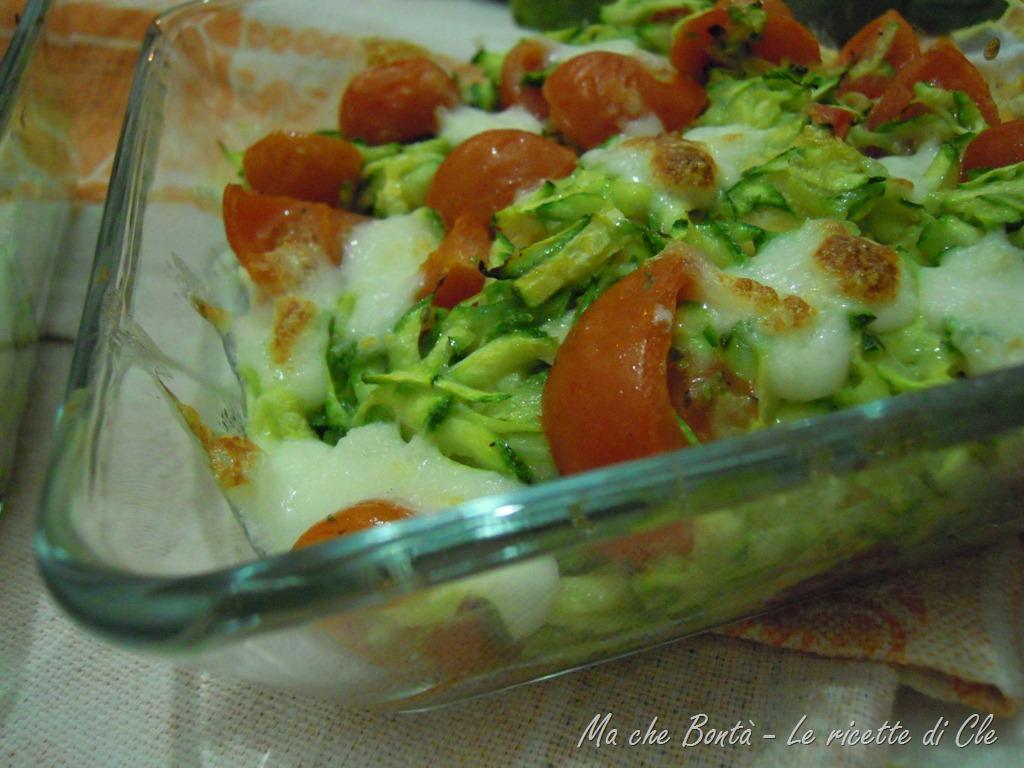 Millefoglie di carasau e zucchine (Vegetariano)