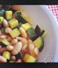 fagioli con cipolle e zucchine