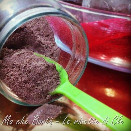 preparato per tortino cioccolato