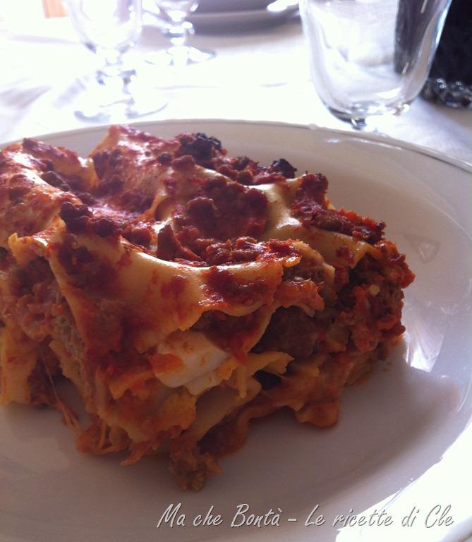 Lasagna al forno di Cle