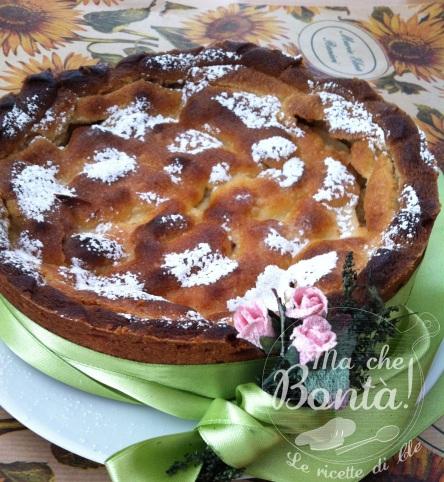 Apple pie senza lattosio-uova-glutine