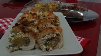 Rollè di pollo e funghi