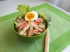 Insalata di pollo e carote