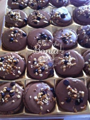 biscotti saraceni con cremino alla nocciola - confezione