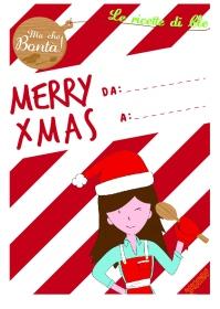 etichetta merry xmas