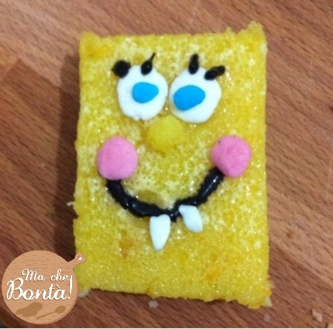 spongebob lemon bars