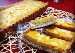 Crostata integrale di zucca e mandorle