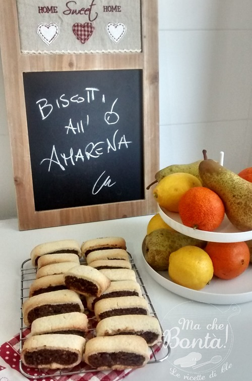 biscotti all'amarena