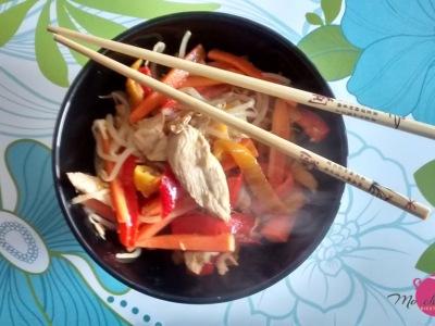 pollo-con-verdure-croccanti