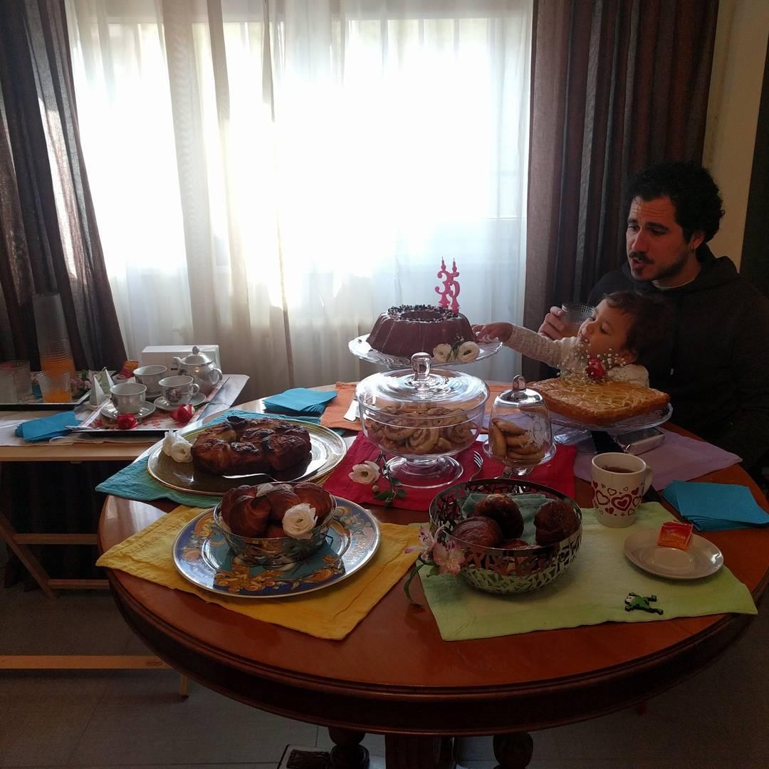 Breakfast Party per festeggiare il mio 35° compleanno