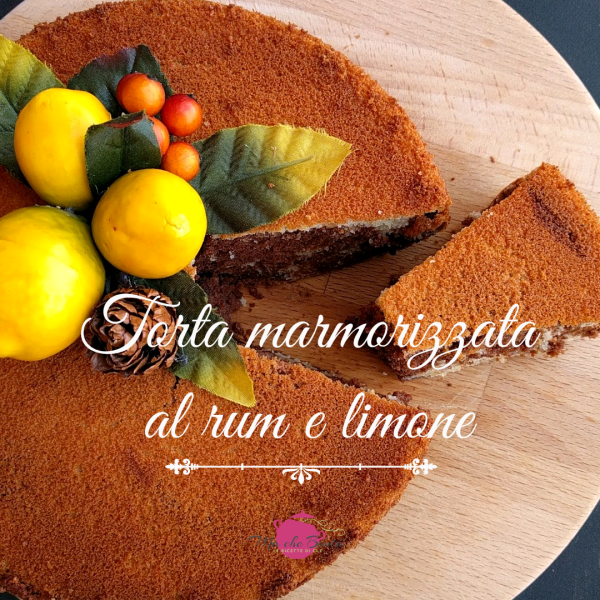 torta-marmorizzata-rum-limone