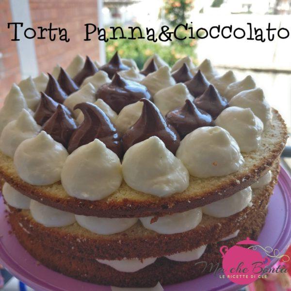 Torta-panna-cioccolato