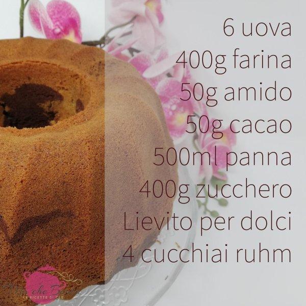 ciambella-panna-e-cioccolato-ingredienti