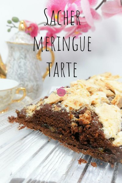 sacher-meringue-tarte